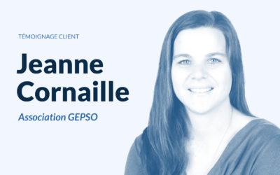 Témoignage de Jeanne Cornaille sur l'accompagnement d'Ivolve au sein du GEPSO